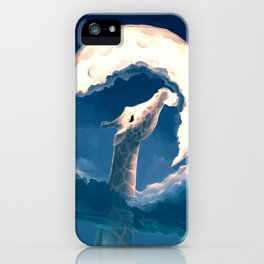 La fable de la girafe iPhone Case
