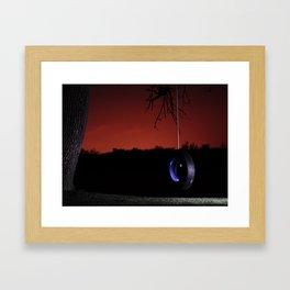 Lonely nights  Framed Art Print