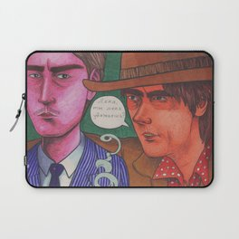 Stagger Meets Lenny Laptop Sleeve