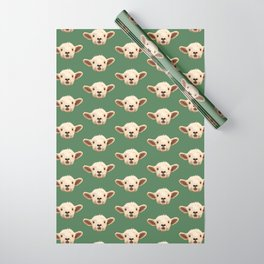 Sweet Lamb in the Barnyard Wrapping Paper