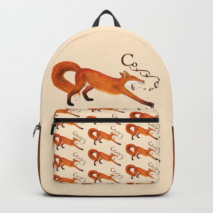 Coffee Fox Backpack