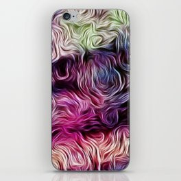 Fusion Of Pastel iPhone Skin