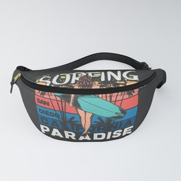 Paradise Surfing Fanny Pack