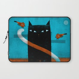 OFFSET WHISKERS Laptop Sleeve