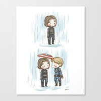stucky Canvas Prints featuring Rain  by BlacksSideshow
