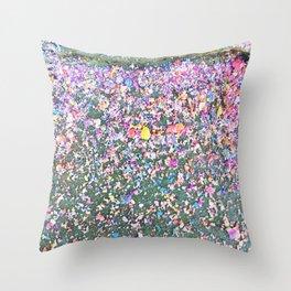 Chalk Dust Confetti - Rainbow Throw Pillow