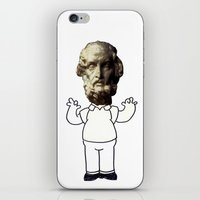 homer iPhone & iPod Skins featuring HOMER simpson by sharon