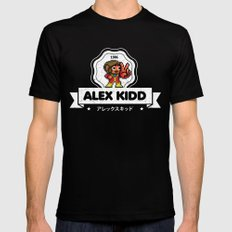 Alex Kidd Mens Fitted Tee MEDIUM Black
