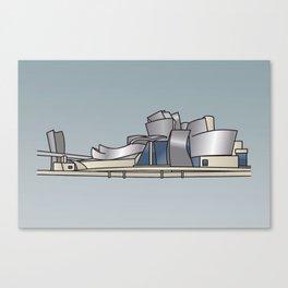 Guggenheim Museum of Bilbao Canvas Print