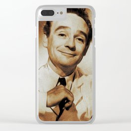 Kenneth Connor, Carry On Legend Clear iPhone Case