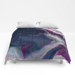 In Bloom - Resin art Comforters