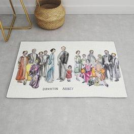 Downton Abbey Rug