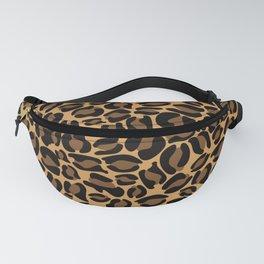 Leopard Print   Cheetah texture pattern Fanny Pack