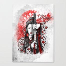 Katsumi - victorious beauty Canvas Print