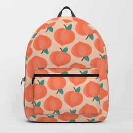 Fuzzy Peaches  Backpack