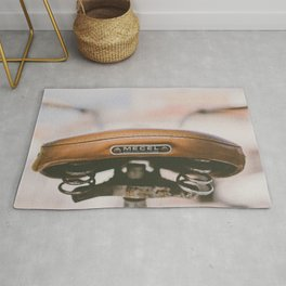 Vintage Bike Saddle Rug