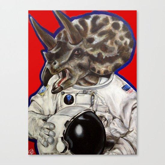 Prehistoric Astronaut Canvas Print