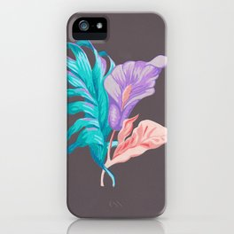 Vibrant Lily iPhone Case