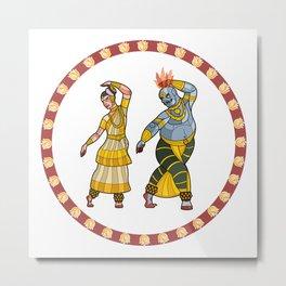 Dance of the Enchantress Metal Print