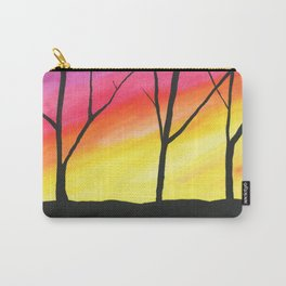 Brilliant Sky, Dark Trees Carry-All Pouch