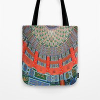 china Tote Bags featuring China by Hgnovic
