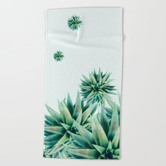 tropical stars  Beach Towel