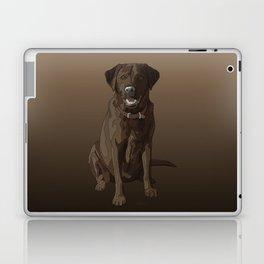 Chocolate Labrador Retriever Brown Dog Laptop & iPad Skin