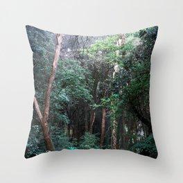 Bosco del Sasseto Throw Pillow