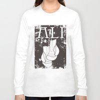 ali Long Sleeve T-shirts featuring ALI by FLIPO