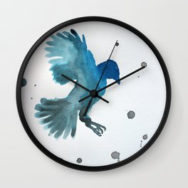 Bluejay Wall Clock