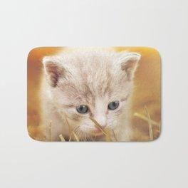 Kitten   Chaton Bath Mat