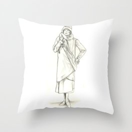 1920's Fashion  Throw Pillow
