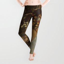 Monet- Women in the Garden, nature,Claude Monet,impressionist,post-impressionism,painting Leggings