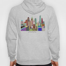 Philadelphia city sklyine Hoody