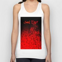 soul eater Tank Tops featuring Soul Eater by Deb Adkins
