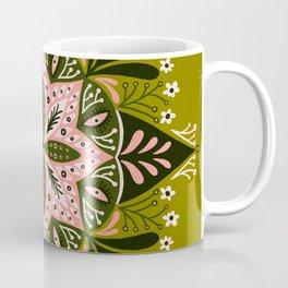 Sprouting Mandala – Sage & Pink Coffee Mug
