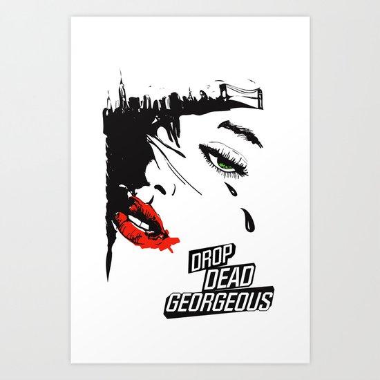 drop dead gorgeous - femme fatale Art Print
