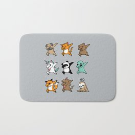 Dabbing Party Bath Mat
