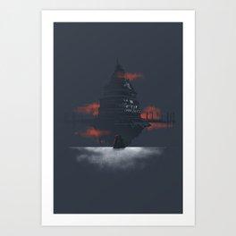 Sword Art Online - Aincrad Art Print