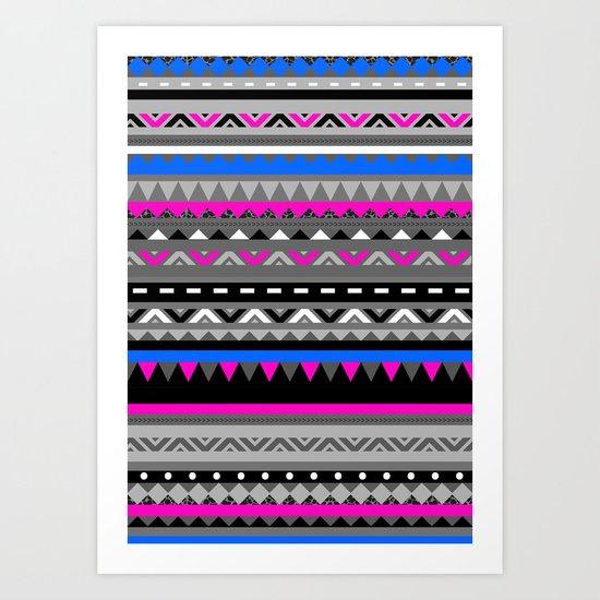 DONOMA ▲ BLUES Art Print