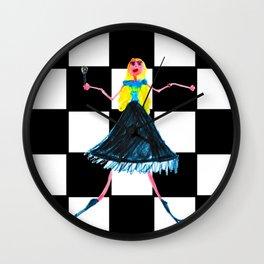 Pop Star Singer Wall Clock