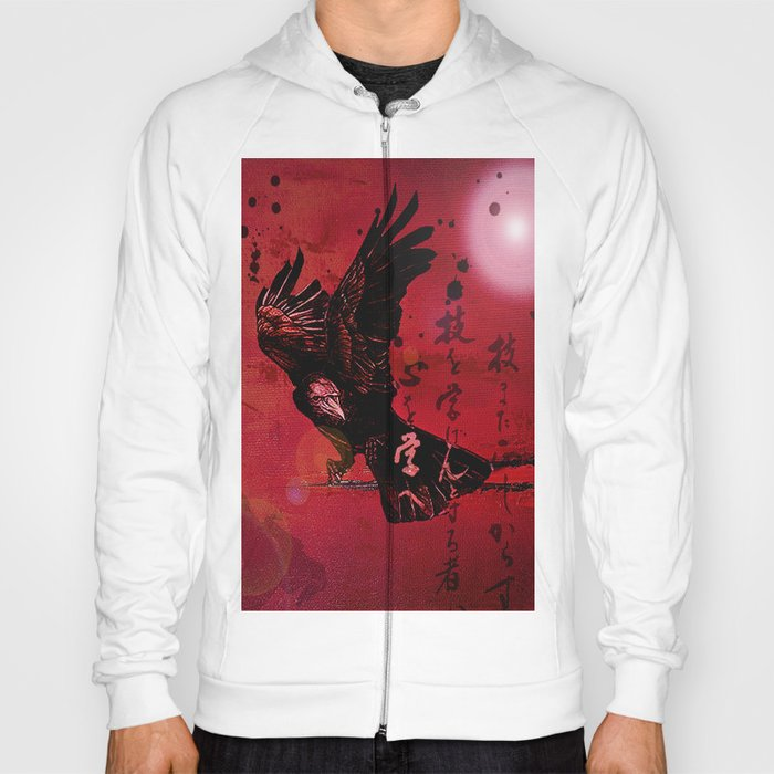 The crow philosophizes Hoody