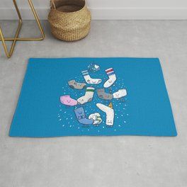 Lost Sock Party Rug