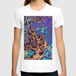 Klimt tree stylization T-shirt