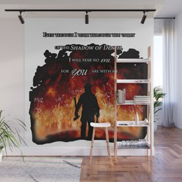 Firefighter Tribute Wall Mural