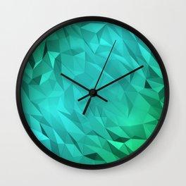 I Love Low Poly 3 Wall Clock