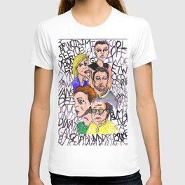 THE LSD WORLD OF ITS ALWAYS SUNNY IN PHILADELPHIA T-shirt