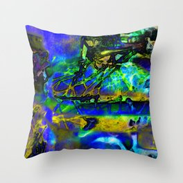 CONMOVIDO LLENO DE ESTRUCTURAS Throw Pillow