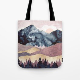 Mauve Vista Tote Bag