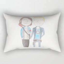 Stucky - the cutest couple on campus Rectangular Pillow